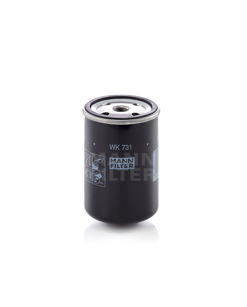 6640459102 Mann Wk 731 Fuel Filter Filters By Dimensions